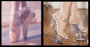 ballet vs pole shoes