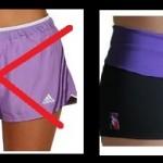 shorts comparaison